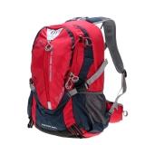 Рюкзак 25 литров с отсеком для ноутбука. красный LOCALLION