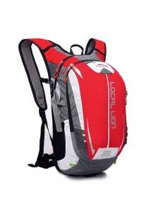 Вело рюкзак 18 литров с отсеком для гидратора. красный LOCAL LION
