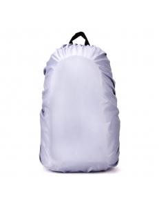 Водо непроницаемый чехол на рюкзак 35 литров. серебро