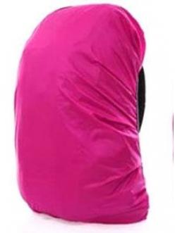 Водонепроницаемый чехол на рюкзак 35 литров. розовый