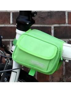 Сумка на раму 1.5л зеленая Roswheel