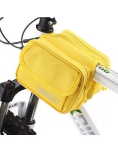 Сумка на раму 1.5л желтая Roswheel