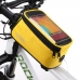 """На рамная сумка для телефона 4.8"""" Roswheel желтая"""