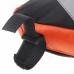 подрамная треугольная сумка Roswheel, черно-оранжевая