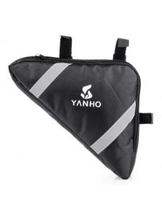 Подрамная треугольная сумка черная YANHO YA085 1.5L