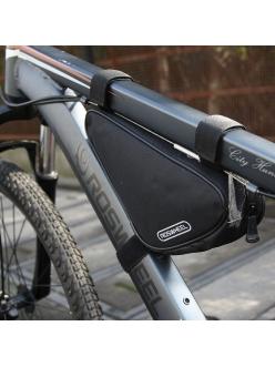 подрамная сумка треуголка Roswheel, переднее размещение