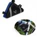 подрамная треугольная сумка Roswheel, черно-синяя