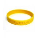 Браслет LiveStrong - желтая метка велосипедиста