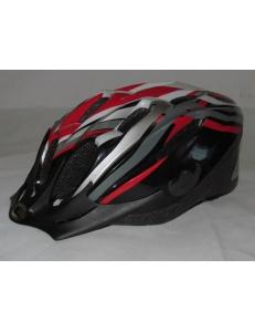 Шлем - LONGUS - ENTRY красный/белый, разм L/XL - уценка