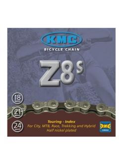 Цепь, KMC Z8s, 7-8ск, велосипедная цепь, цепь для велосипеда