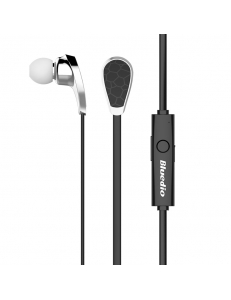 Блютуз стерео гарнитура BLUEDIO N2, Bluetooth 4.1, черная