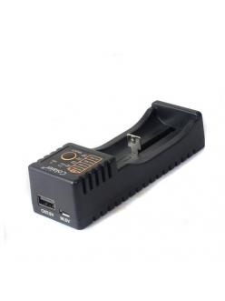 Универсальное зарядное устройство / повербанк Colaier / LiitoKala Lii-100 / VariCore V10 18650, 26650, AA, AAA