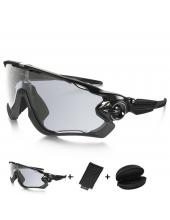 Очки Oakley JawBreaker, черные, фотохромная линза, хамелионы