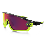 Очки Oakley JawBreaker, цвет черный/зеленый, поляризация, линзы Prizm Road, 5 линз