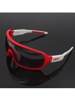 Очки POC DO Blade, цвет белый/красный, поляризация, 4 линзы, диоптрическая вставка