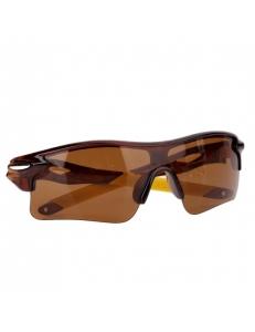 Очки Oakley RadarLock коричневая оправа - коричневая стекла