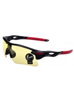 Очки Oakley RadarLock черная оправа - желтые стекла