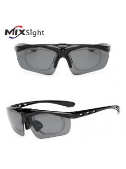 Очки MIXSIGHT поворотные, диоптрическая вставка, черные