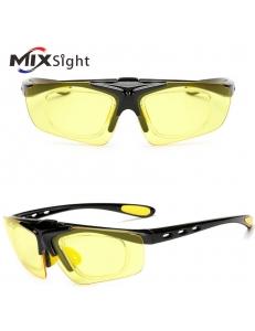 Очки MIXSIGHT поворотные, диоптрическая вставка, желтые