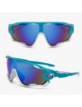 Очки Oakley JawBreaker, цвет синий/серебро