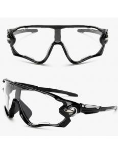 Очки Oakley JawBreaker, черная оправа прозрачные стекла