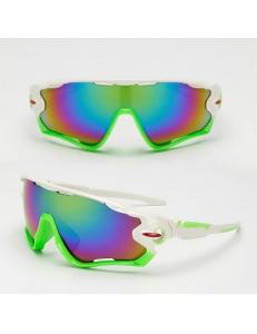 Очки Oakley JawBreaker, цвет белый/зеленый