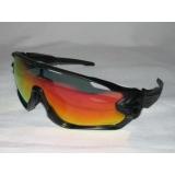 Очки Oakley JawBreaker, черный/черный, поляризация, линзы Prizm Road, 5 линз