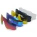 Очки Oakley JawBreaker, цвет белый/черный, поляризация, линзы Prizm Road, 5 линз