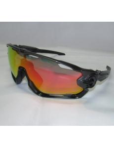 Очки Oakley JawBreaker, цвет серый/черный, поляризация, линзы Prizm Road, 5 линз