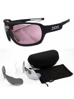 Очки POC DO Blade, цвет черный, поляризация, 4 линзы, диоптрическая вставка