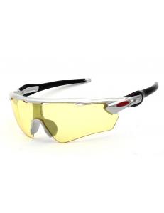 Очки OAKLEY Radar EV Pitch оправа серебро - желтые стекла