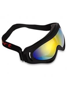 Маска вело, мото, лыжи, сноуборд, спортивная, горнолыжная, лыжная, солнцезащитная, радужные стекла