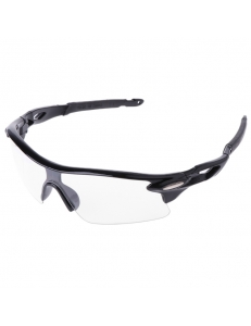 Очки Oakley RadarLock черная оправа - прозрачные стекла