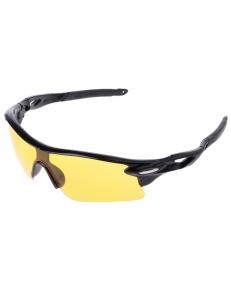 Очки Oakley RadarLock черная оправа - желтые стекла 2017