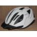 Велосипедный шлем Crivit LED мигалка белый