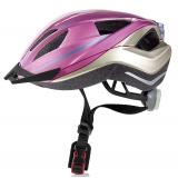 Велошлем детский Crivit LED SP-61 kids розовый (112)