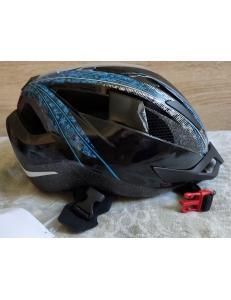 Велошлем детский Crivit LED SP-91/SP-06 kids синий