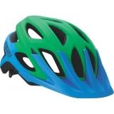 Велошлем BBB Varallo, матовый синий/зеленый, US:L, BHE-67