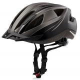 Велошлем Crivit LED SP-61 чер/сер (862)