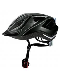 Велошлем Crivit LED SP-61 темно серый (150)