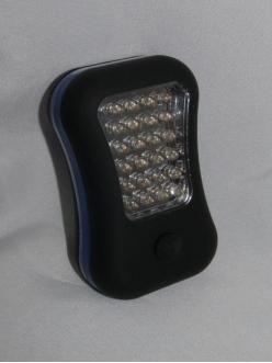 Много функциональный фонарь 24+3 светодиода
