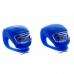 Силиконовая мигалка Frog, 2 синих светодиода