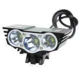 Велофара, фонарь-фара Cree XML 3xU2 Сова Solar Storm Х3