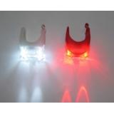 Комплект силиконовых мигалок уши, красная + белая