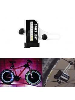 Графическая LED подсветка для спицы колеса