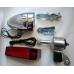 Комплект фара + стоп, динамо-генератор 6 В/3 Вт, фара 2.4 Вт, задний фонарь