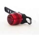 Задяняя мигалка, алюминий, клон, Dosun RC100 USB, красный корпус