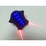Габарит стоп + лазерная дорожка 5 диодов приведение, синий