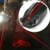 Задняя мигалка с лазерными дорожками, 3 лазера, лазер лого велосипеда