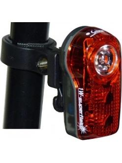 Фонарь задний Smart Superflash Red LED 0.5W + 2 LED RL317R-01